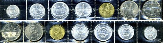 Китай, 7 монет
