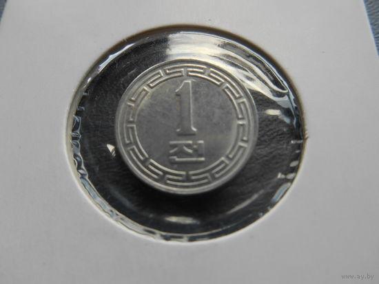 Северная Корея КНДР 1 чон 1959 г.