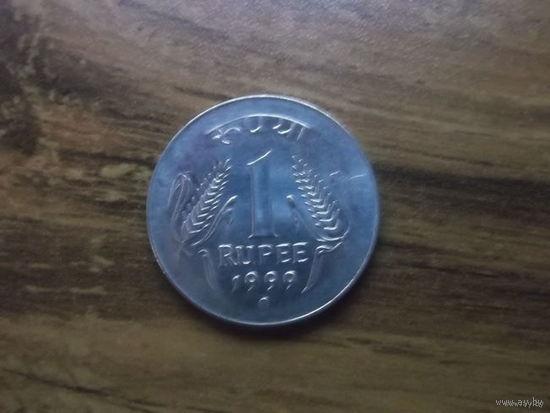 Индия 1 Рупия 1999