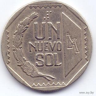Перу, 1 новый соль 1991 года.
