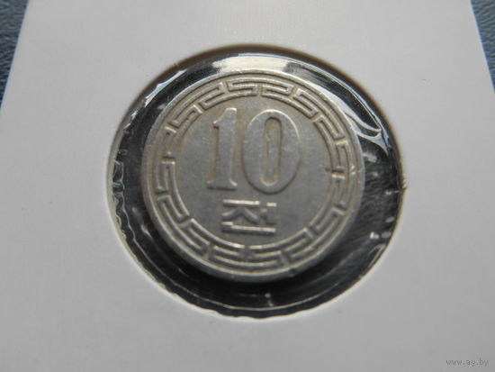 Северная Корея КНДР 10 чон 1959 г.