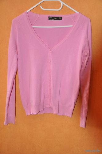 Женская_кофточка р-р S/M_фирмы-ZARA-хорошего качества, оч.красивый нежно-розовый цвет_!