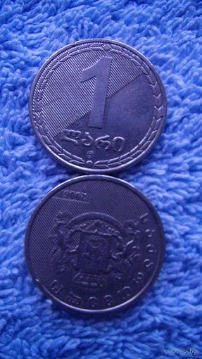Грузия 1 лари 2006г. распродажа