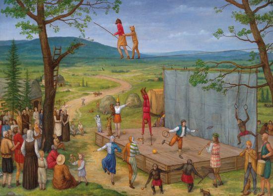 Авторская картина Кирилл Мельник большой размер 100х130 холст масло работа в каталоге