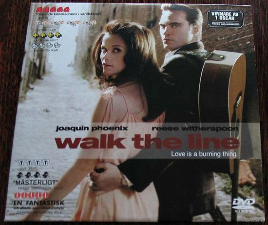Walk The Line. DVD 9