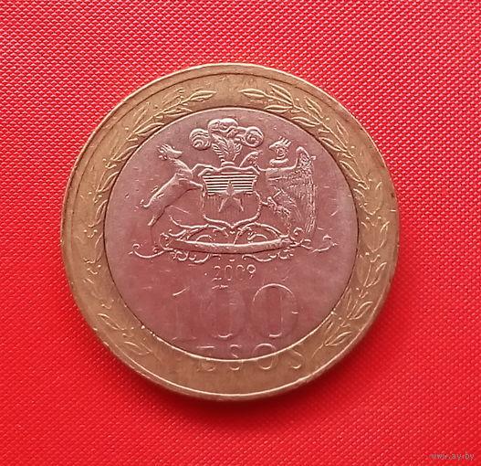 58-27 Чили, 100 песо 2009 г.