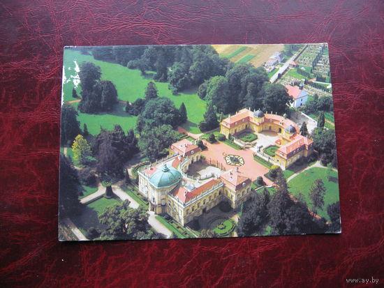 Открытка замка Бухловицы Чехословакия