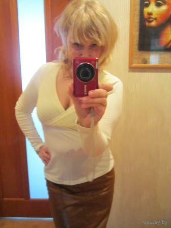 Евочки , не проходите мимо. Блуза секси Цвет- слоновая кость. р. 44-48