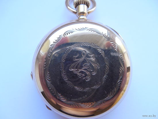 Золотые карманные часы Патек Филипп. Швейцария