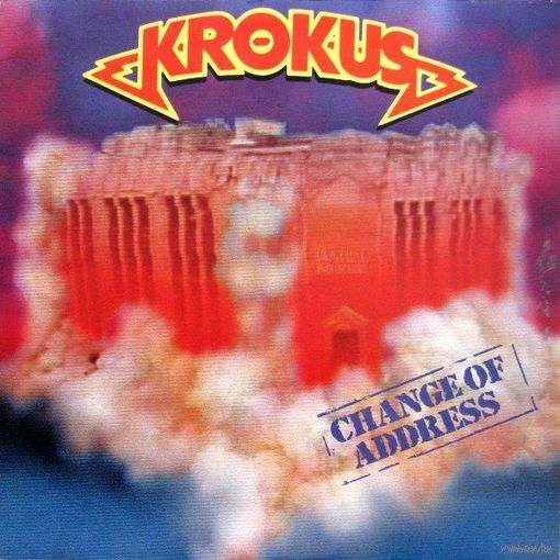 Krokus - Change Of Address - LP - 1986
