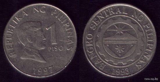 1 Писо 1997 год Филиппины