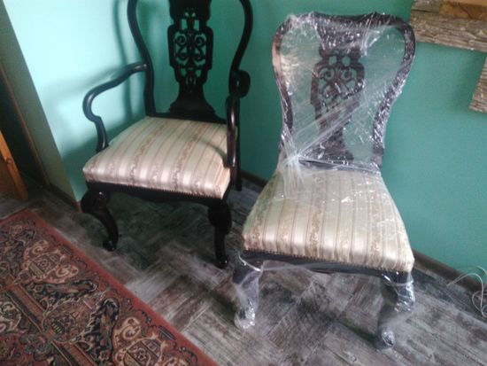 Комплект шикарных стульев.  (2+4 )