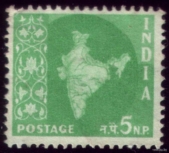 1 марка 1957 год Индия