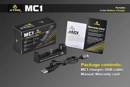 Универсальное Зарядное Устройство XTAR MC1 18650