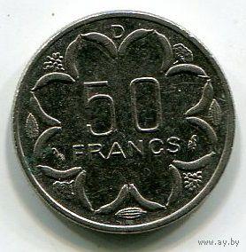 ГАБОН - 50 ФРАНКОВ 1983 D