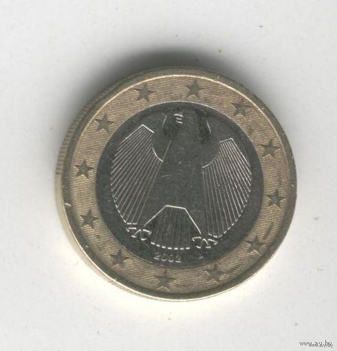 Германия 1 Евро А 2002г.   распродажа