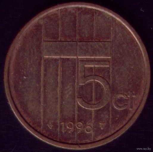 5 центов 1996 год Нидерланды