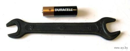 Ключ рожковый 14 х 17 мм (Chrom Vanadium Ц 55 к)