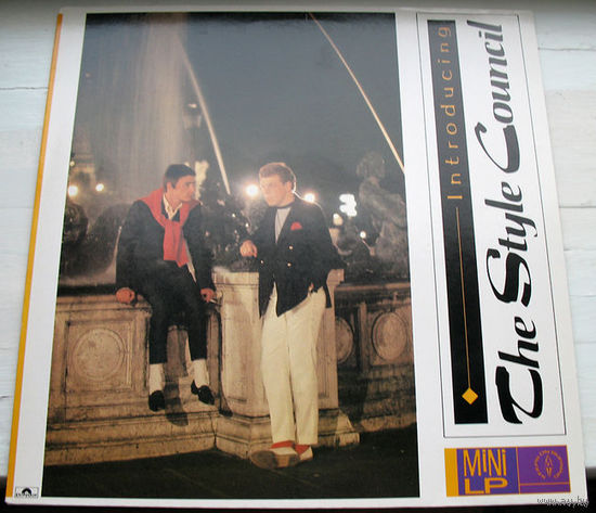 "The Style Council ""Introducing: The Style Council"" LP, 1983"