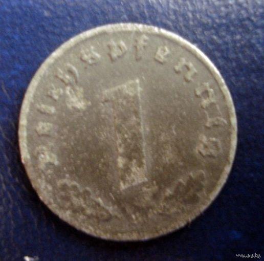 1 пфенинг 1941г.