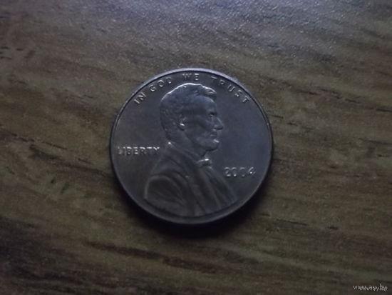 США 1 cent 2004