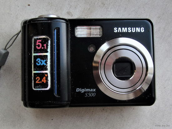 Samsung Digimax S500 - на запчасти