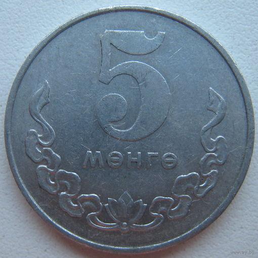 Монголия 5 мунгу 1980 г.