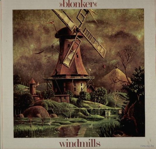 0310. Blonker. Windmills. 1981. Philips = 16$