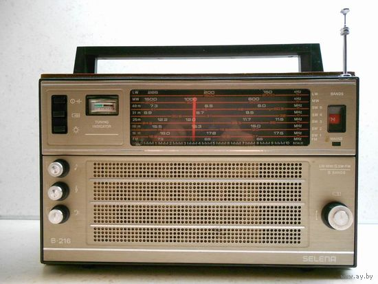 Радиоприёмник / радиоприемник Selena B-216