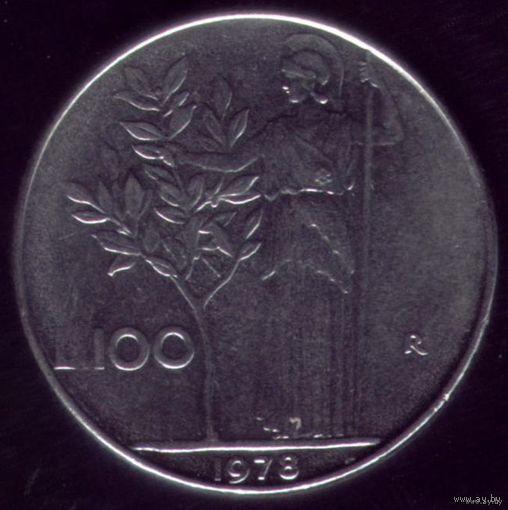 100 Лир 1978 год Италия