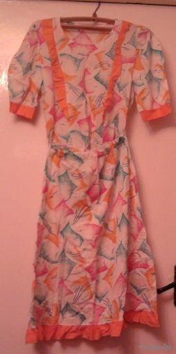 Костюм летний блузка+юбка новый, размер 46-48