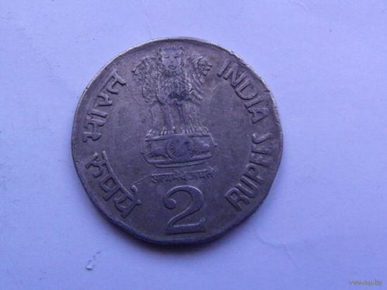 Индия, 2 рупии 1996г.   распродажа