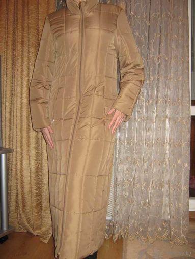 Очень тёплое и качественное зимнее пальто,новое,германия,размер42-44!