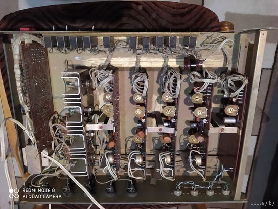 Прибор на запчасти или восстановления.платы и радиодетали все на месте.