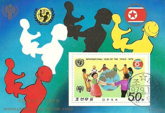 Международный год ребенка. КНДР 1979 г. (Корея) Серия + блок