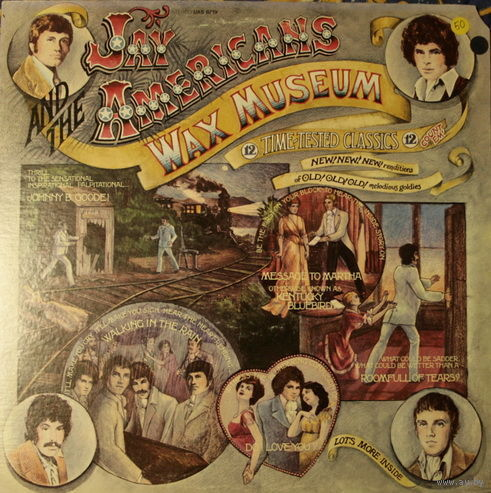 Jay And The Americans - Wax Museum - LP - 1970