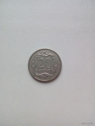 20 грош 1992г. Польша