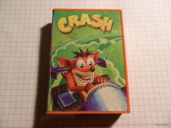 Электронная игрушка гонки CRASH из (Магдональса)