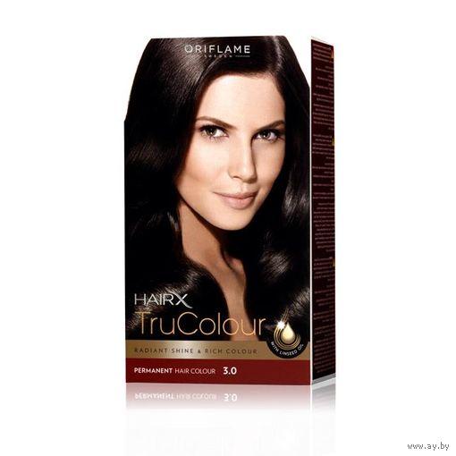 Cтойкая краска для волос HairX TruColour - Темно-коричневый - В НАЛИЧИИ