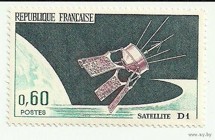 Спутник - D1 космос негаш. Франция 1966