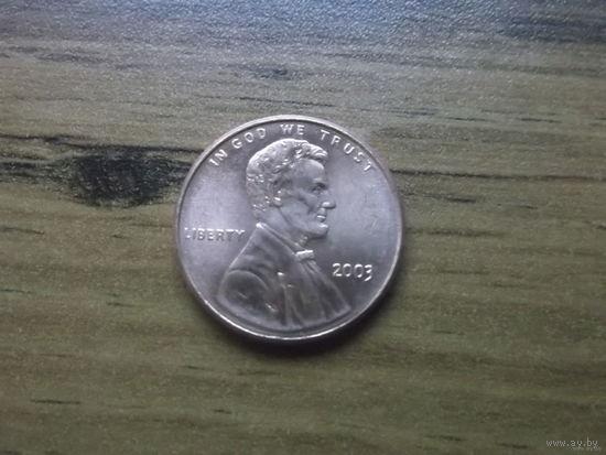 США 1 cent 2003 (2)