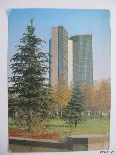 Москва здание  СЭВ  1989г.
