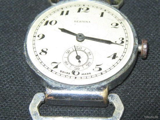 Часы наручные.Бернина.Швейцария.40-50е года.