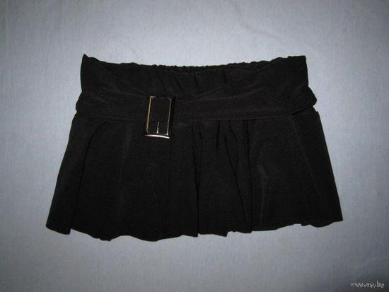 Мини-юбочка стрейч, с трусиками, для спортивных танцев (прим. р.36-38, на худенькую девочку подростка)