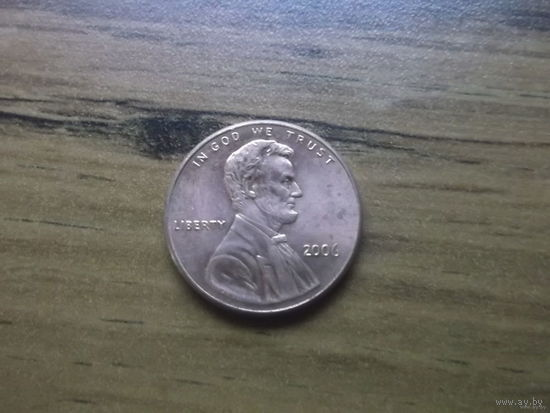 США 1 cent 2006.