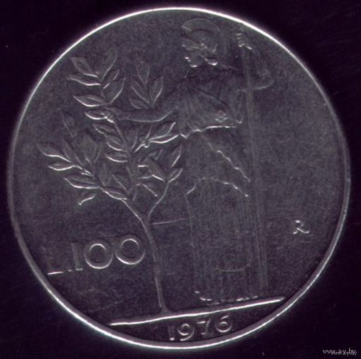 100 Лир 1976 год Италия