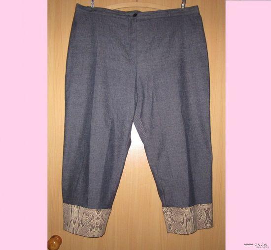 Капри джинсовые C&A, р.54 (ОБ  от 125)