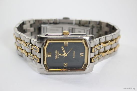 Наручные часы GRUEN GSM064 с бриллиантовыми вставками (сертификат)