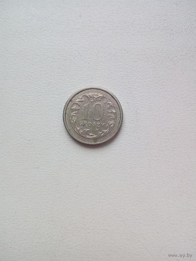 10 грош 1991г.Польша (1)