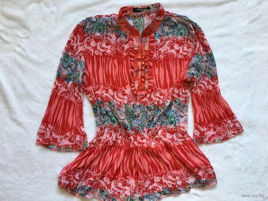 Блуза 44-48 вискоза